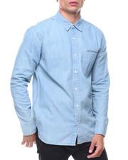 Long-Sleeve - Greg Light Weight Denim Shirt