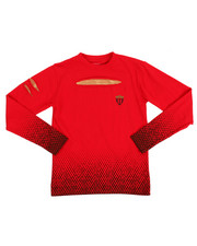 Boys - L/S Chest Foil Knit Top (8-20)