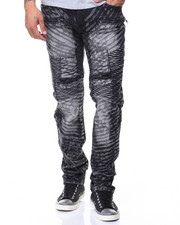 Men - Stripe Wash Jeans