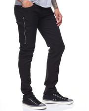 Men - Long Side Zipper Jeans