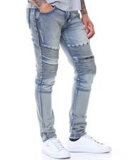 Men - Double Zipper Motto Jeans