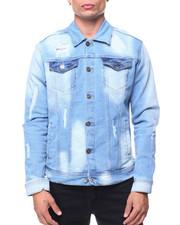 Men - Old Vintage Ripped Denim Jacket