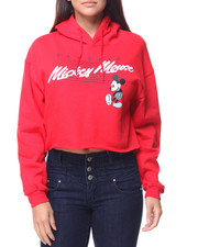 Graphix Gallery - Mickey Mouse Classic Cropped Hoodie