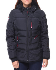 Outerwear - Lt Hooded Puffer Jacket