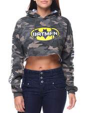 Graphix Gallery - Batman Cropped Hoodie