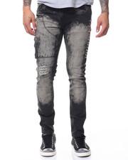 Jeans - Side Zip/Side Studs