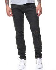 Jeans - Pleated Knee Motto Jeans