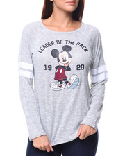 Graphix Gallery - Mickey Leader Varsity Hacci Pullover