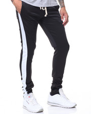 Pants - Poly Tricot Pant w Stripe Detail