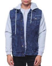 Buyers Picks - Denim Jacket With Fleece Hooded