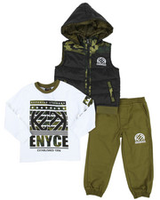 Enyce - 3 Piece Jogger Set (2T-4T)