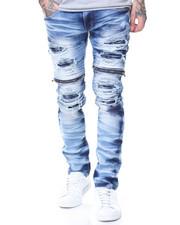 Jeans - Rip + Repair Denim Motto Backing