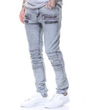Jeans - Pleated Knee Jean