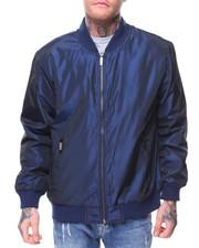 Outerwear - Nylon Irridecent Bomber Jacket