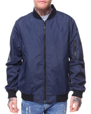 Outerwear - Defend Lightweight Jacket With Zippers On Sleeve