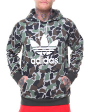Adidas - CAMO PULLOVER HOODIE