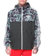 Adidas - CAMO REVERSIBLE WINDBREAKER