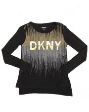 Girls - DKNY 1989 Glitter Tee (7-16)