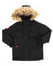 Boys - Vestee Parka Jacket (4-7)