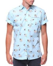 Button-downs - S/S Pug Woven Shirt