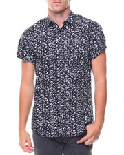 Short-Sleeve - S/S Punk Rock Woven Shirt