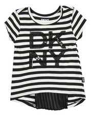 DKNY Jeans - Pleated Back Top (4-6X)