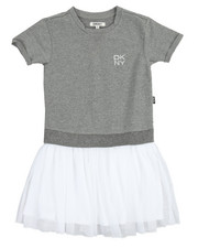 Girls - Popover Tuller Dress (7-16)