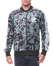 Adidas - CAMO SUPERSTAR TRACK JACKET
