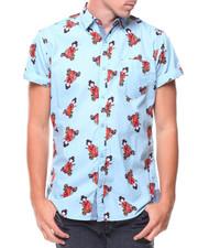 Men - S/S Geisha Woven Shirt