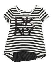 Girls - Pleated Back Top (2T-4T)