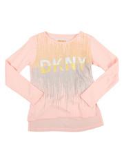 Girls - DKNY 1989 Glitter Tee (4-6X)