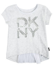 Girls - Pleated Back Top (4-6X)