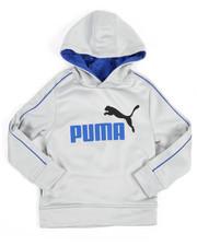Puma - L/S Poly Fleece Hoodie (4-7)
