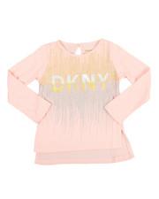 Girls - DKNY 1989 Glitter Tee (2T-4T)