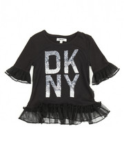 Girls - DKNY Tulle Ruffle Top (4-6X)