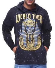 Men - Crypt Hoodie Egyptian Pattern Hoodie