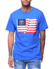 Shirts - FLAG Print Tee