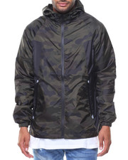 Outerwear - Windbreaker Full Zip Jacket
