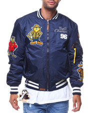 Outerwear - MA1 Champs Nylon Bomber Jacket (Cartoon Patch)