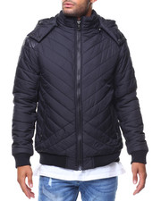 Outerwear - Quilted Bubble Jckt