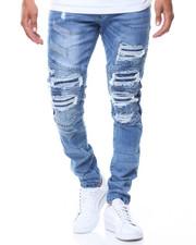 Jordan Craig - Ripped Motto Backing Jeans