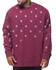 Men - L/S Rebels Crew Sweater (B&T)