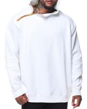 Hoodies - Pebble Knit Side Zip Hoodie (B&T)