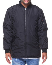 Outerwear - Aviator MA1 Long Flight Jacket