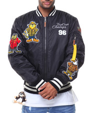Outerwear - MA1 Champs Bomber Nylon Jacket (Cartoon Patch)