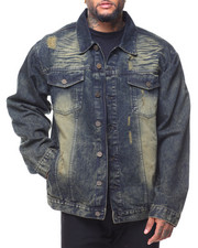 Buyers Picks - Destructed Long Sleeve Denim Jacket (B&T)