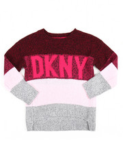 Girls - Logo Multi Stripe Sweater (4-6X)