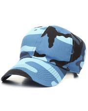 Hats - Blue Sky Camo Dad Cap