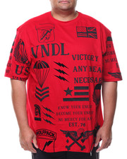 Shirts - S/S American Vndls  Crew-neck Tee (B&T)