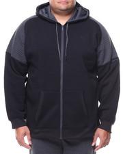 Akademiks - L/S Allen Moto Fleece Hoodie (B&T)